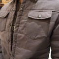 United by Blue's new stylish button up insulated shirt.- 2016 Outdoor Retailer Winter Market Review