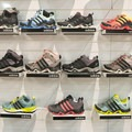 The Adidas lineup of women's hiking and trail running shoes.- 2016 Outdoor Retailer Winter Market Review