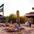 Goldfield Ghost Town cemetery.- 3-day Itinerary for Mesa, Arizona