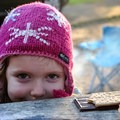 S'mores make happy kids.- The Basics of Camping With Kids