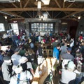 Inside the tap room at Base Camp Brewing Co. at the 2016 Summer Solstice Block Party.- 2016 Summer Solstice Block Party Recap