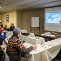 Covering some of the causes of avalanche formation in the classroom.- Welcome Winter with an Avalanche Awareness Course