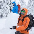 Things were setting up well on this particular day.- Welcome Winter with an Avalanche Awareness Course