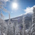 Mount Bachelor after a fresh dump of snow.- Welcome Winter with an Avalanche Awareness Course