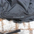 Front view of the storage pocket.- Gear Review: Matador Beast 28L Pack