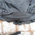 Zipper of the storage pocket. - Gear Review: Matador Beast 28L Pack