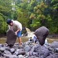 It can be fun to balance rocks, but be sure you leave Hawaiian beaches as you found them. - Rethinking Leave No Trace: Increasing Your Cultural Awareness