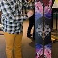 The Sego Wizard ski.- The 2018 Van Gogh of Snow Awards