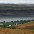 Basalt layers along the Columbia River in eastern Oregon and Washington.- Missoula Floods