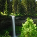 South Falls, Silver Falls State Park, Oregon.- State and County Parks and Forests