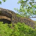 The basalt arch along Catherine Creek.- Missoula Floods