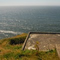 Fort Canby: Bunker overlooking the Pacific Ocean at North Head.- Columbia River Harbor Defense System