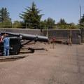 Fort Stevens: WWI coastal artillery gun.- Columbia River Harbor Defense System
