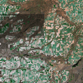 Channeled Scablands in eastern Washington.- Missoula Floods