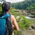 Exploring around Rock Island State Park.- Woman In The Wild: Sarah Connette