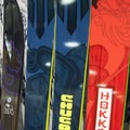 A few from Dynafit's AT ski line (left to right): Manaslu Women's Ski, Denali ski, and new for 2015/16, the Chugach ski and Hoikkado ski.- Outdoor Retailer, Winter 2015