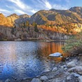 Find bodies of water to refect the colors such as Lower Bells Reservoir. - How to Photograph Autumn Colors