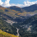 Looking up Big Cottonwood Canyon in autumn.- 3-Day Itinerary for Big Cottonwood Canyon