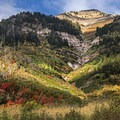 Look for places that have geological diversity as well as a wide array of tree species.- How to Photograph Autumn Colors