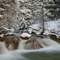 Bring your tripod to integrate long exposure into your winter scene.- Essential Tips for Great Winter Photography