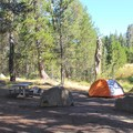 - Bridalveil Creek Campground
