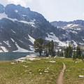 - Lake Solitude via Cascade Canyon