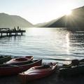 - Lake Crescent Lodge Beach
