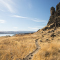 - Horsethief Butte Hike + Rock Climbing Area