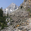 - Garnet Canyon Trail to Cleft Falls