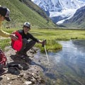 Backcountry filtration. Photo by Scott Rinckenberger.- The Complete Guide to Water Treatment Basics