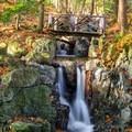 Footbridge Falls on Whiteface Mountain, NY.- 15 Stunning Photos of Autumn in the Adirondacks
