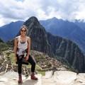Checking an item off my bucket list - Machu Picchu.- Woman In The Wild: Adriana Garcia