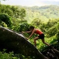 Getting an even better vista on the Kuilau Ridge Trail.- Woman In The Wild: Sarah Connette