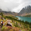 Lake Ellen Wilson.- A Guide to Backpacking Glacier via Amtrak