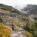 Hiking to Comeau Pass.- A Guide to Backpacking Glacier via Amtrak
