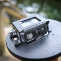 Metal buttons allow for controlling the GoPro while it is inside the dome.- Gear Review: GoPole Dome