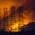 The Eagle Creek Fire burns in the Columbia River Gorge.- Devastating Eagle Creek Fire in the Columbia River Gorge