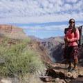 Grand Canyon Traverse, Tonto Plateau.- Woman In The Wild: Sirena Rana Dufault