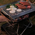 Pack and Carry Fireplace Grill Set from Snow Peak.- 10 Great Gift Ideas for the Outdoor Dad