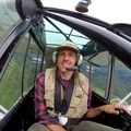 Me flying.- Learning to Fly in Moose Pass, Alaska