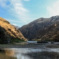 Hells Canyon views on the Snake River.- Rivers of Oregon