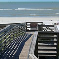 Boardwalk to the beach on Honeymoon Island.- 10 Fantastic Beach Towns in Florida