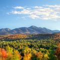 Looking over at High Peaks Wilderness.- 15 Stunning Photos of Autumn in the Adirondacks