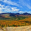 View of the High Peaks Wilderness from Mount Van Hoevenberg, NY.- 15 Stunning Photos of Autumn in the Adirondacks
