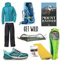 Hiking and Backpacking gear package featuring Astral, Deuter, Thermarest, Lawson Hammock, Outdoor Research, and Living Big!- A Month of Female Badassery