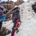 Ready for the ice.- Mountain Mama Climbing Harness by Mad Rock