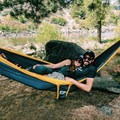 No better way to snuggle than in a Double Hammock!- 7 Awesome + Easy Outdoorsy Date Ideas That Don't Suck