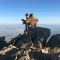 Cucamonga Peak on America's birthday.- Hike Like a Girl: Periods and Peeing in the Backcountry