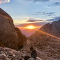 Sunrise at 11,500 feet.- Lightning, wildfires, and fickle friends: Lessons from Mount Whitney