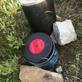 Practicing proper bear canister safety.- Lions and Tigers and Bears...Oh My: Backpacking in Bear Country